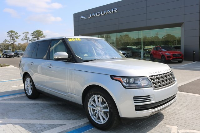 Certified Pre-Owned 2016 Land Rover Range Rover 3.0L V6 Supercharged